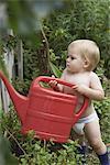 What a great little gardener