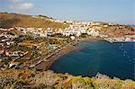 View of San Sebastian de la Gomera, La Gomera, Canary Islands, Spain, Atlantic, Europe