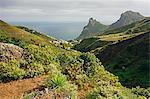 Taganana village, Anaga Mountains, Tenerife, Canary Islands, Spain, Atlantic, Europe