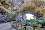 Devetashka cave interior near city of Lovech, Bulgaria