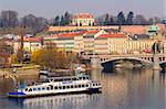 Prague old town at spring, Czech Republic