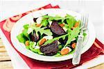 Roast Beetroot, Almond, Feta and Rocket Salad