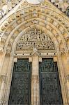 St. Vitus Cathedral, UNESCO World Heritage Site, Prague, Czech Republic, Europe