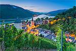 Bacharach on the River Rhine, Rhineland Palatinate, Germany, Europe