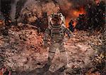 CG astronaut