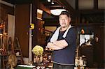Japanese glass artisan portrait