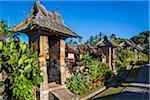 Penglipuran a traditional Balinese Village, Bangli, Bali, Indonesia