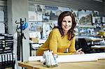 Portrait of female architect