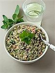 Quinoa and tabouili salad