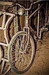Photo of retro old bike