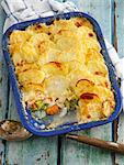 Fish and potato bake