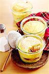 Semolina bake with damsons