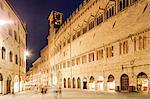 Palazzo dei Priori in Perugia, Umbria, Italy, Europe