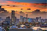 Yokohama, Japan cityscape of Minato Mirai District.