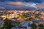 Tottori, Japan skyline.