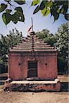 Exterior of Hindu Somnath Temple, Saurashtra, Gujarat, India