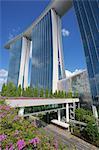 Marina Bay Sands Hotel, Singapore, Southeast Asia