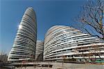Wangjing SOHO exterior, Beijing, China, Asia