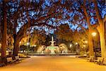 Savannah, Georgia, USA at Forsyth Park.