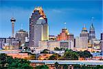 San Antonio, Texas, USA skyline.