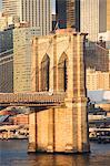 New York City bridge over river