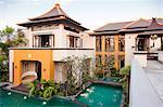 Swimming pool near elegant home