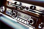 Old fashion car stereo