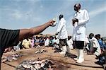 Gabba fish market, Kampala, Uganda, Africa