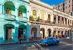 Prado (Paseo de Marti), La Habana Vieja (Old Havana), UNESCO World Heritage Site, Havana, Cuba, West Indies, Caribbean, Central America