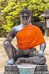 Buddha statue, Bayon Temple, Angkor Thom, Cambodia