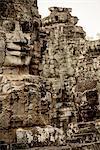 Bayon Temple, Angkor, Siem Reap, Cambodia, Indochina, Asia