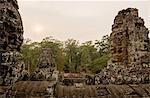 Ruins of Bayon Temple, Angkor, Siem Reap, Cambodia, Indochina, Asia