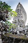 Detail of temple near Ubud, Bali, Indonesia
