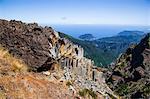 Madeira Island, Pico do Arieiro, rock