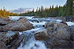 Sweden, Jamtland, Tannforsen waterfall