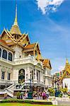 Phra Thinang Chakri Maha Prasat throne hall, Grand Palace complex, Bangkok, Thailand, Southeast Asia, Asia