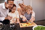 Learning valuable kitchen skills