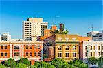 Montgomery, Alabama, USA downtown buildings.
