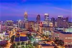Midtown Atlanta, Georgia, USA skyline