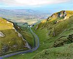 Europe, United Kingdom, England, Derbyshire, Winnats Pass