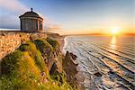 Mussenden temple, Castlerock, County Antrim, Ulster region, northern Ireland, United Kingdom.