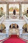 United Kingdom, Northern Ireland, County Antrim, Belfast. The interior of City Hall.