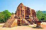 My Son ruins Cham temple site, Duy Xuyen District, Quang Nam Province, Vietnam