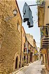 Alleyway in Corleone, Sicily, Italy