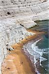 Scala dei Turchi near Porto Empedocle, Province of Agrigento, Sicily, Italy