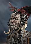 Man of the Mursi Tribe, Omo Valley, Ethiopia
