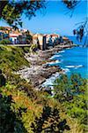 Coastal View of Cefalu, Sicily, Italy