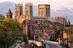 Europe, United Kingdom, England, North Yorkshire, York, York Minster, York Minster Exterior