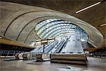 Europe, United Kingdom, England, Middlesex, London, Canary Wharf Underground Station