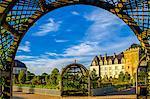 Chateau of Villandry gardens, Indre et Loire, Loire Valley, France, Europe